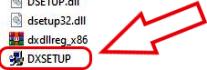 DirectX Installation Instructions