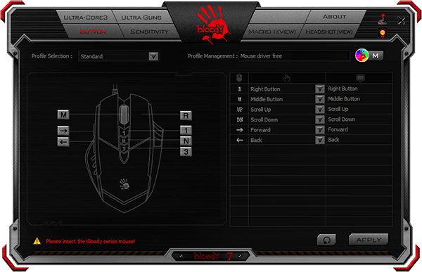 BLOODY 7 (Mouse) Software